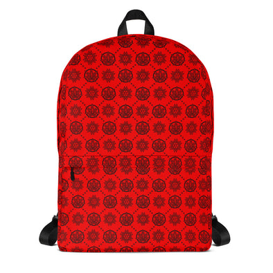 Euphoria Wellness / STX - Black on Red -Backpack