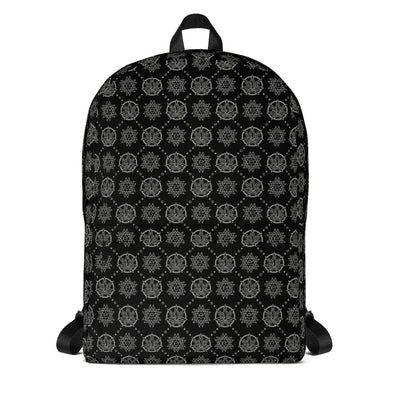 Euphoria Wellness - All Over Print Backpack - Black and White