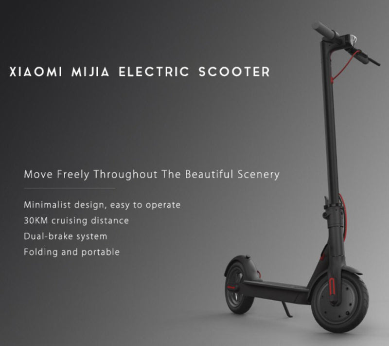 MiJia M365 Folding Electric Scooter – Elektric LUV