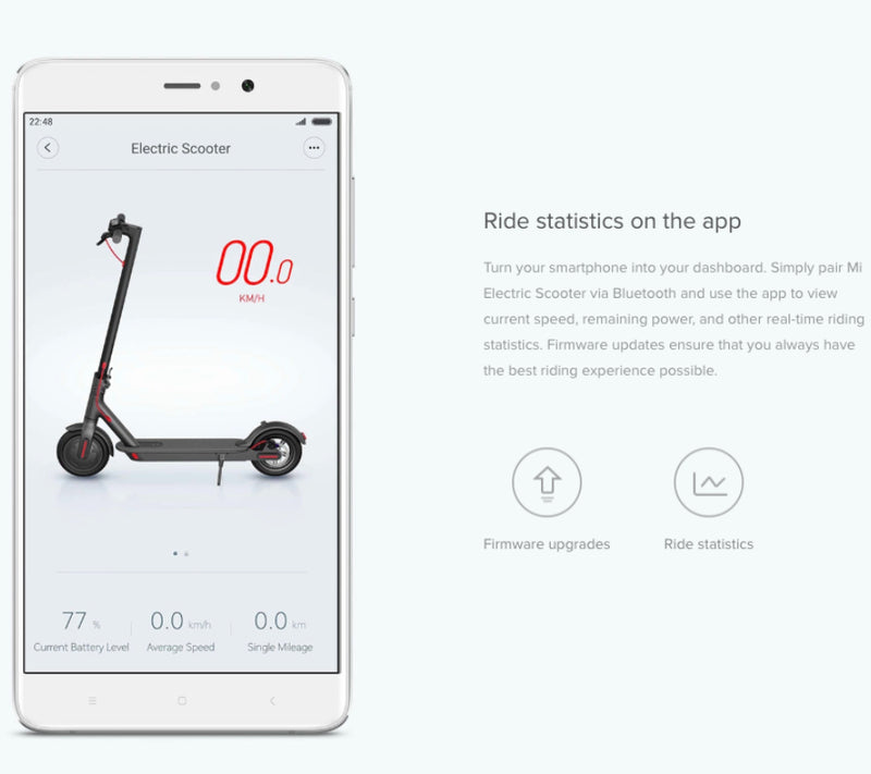 Xiaomi Mijia M365 Electric Scooter App