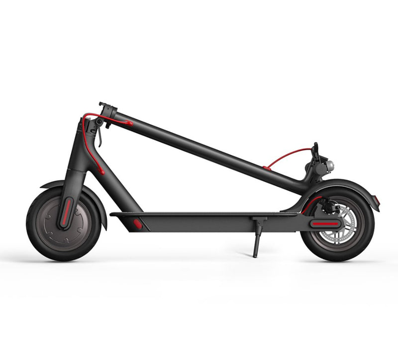 Xiaomi Mijia M365 Electric Scooter Folded - Black Profile