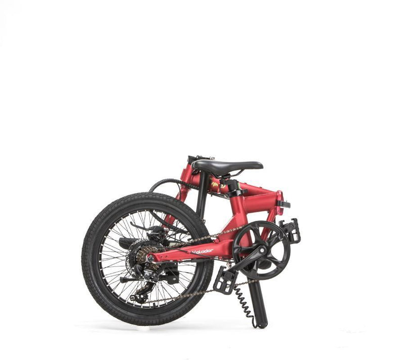 Qualisports Red Volador model completely folded