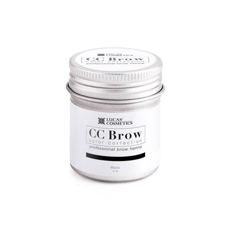 Eyebrow henna CC Brow (black) in jar 5g