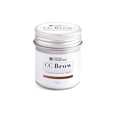 Eyebrow henna CC Brow ( brown) in jar 5g