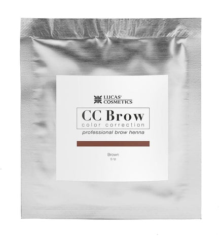 Eyebrow henna CC Brow ( brown ) in sachet 5g