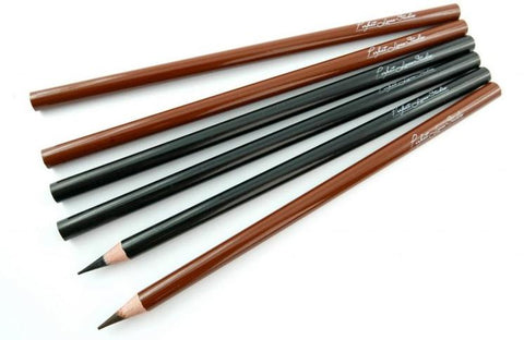Permanent makeup pencil brown
