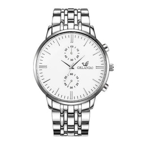 Business Stainless Steel Classy Mens Watch A