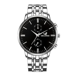 Business Stainless Steel Classy Mens Watch B