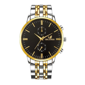 Business Stainless Steel Classy Mens Watch E