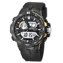 Load image into Gallery viewer, Dual-Clock Daytime Military Sports Chronograph Gold
