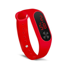 Load image into Gallery viewer, Electronic Band Men Women Watch Casual Sport Red