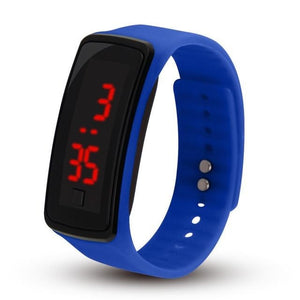 Electronic Sports Watch For Men And Women Blue