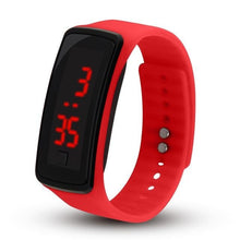 Load image into Gallery viewer, Electronic Sports Watch For Men And Women Red