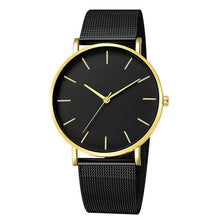 Load image into Gallery viewer, Mens And Womens Watch Casual Slim Stainless Steel D