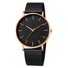 Load image into Gallery viewer, Mens And Womens Watch Casual Slim Stainless Steel G