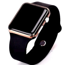 Load image into Gallery viewer, Mens And Womens Watch Sport Electronic Black Rose Gold