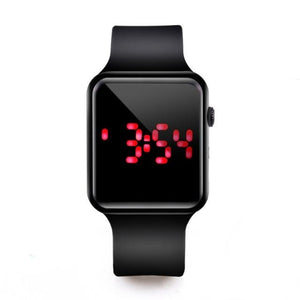 Mens And Womens Watch Sport Electronic Black