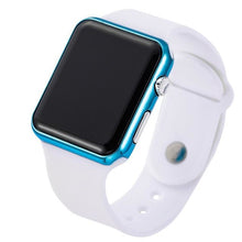 Load image into Gallery viewer, Mens And Womens Watch Sport Electronic White Blue