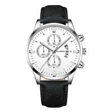 Load image into Gallery viewer, Mens Watch Chic Leather With Calendar Window K