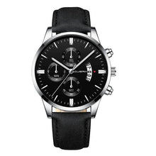 Load image into Gallery viewer, Mens Watch Chic Leather With Calendar Window M