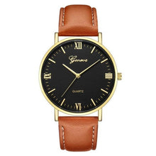 Load image into Gallery viewer, Mens Watch Luxury Casual Leather Build D