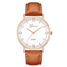 Load image into Gallery viewer, Mens Watch Luxury Casual Leather Build F