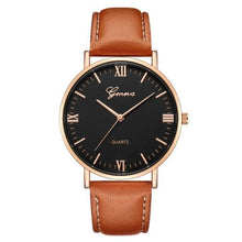 Load image into Gallery viewer, Mens Watch Luxury Casual Leather Build H