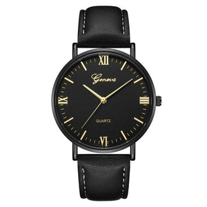 Mens Watch Luxury Casual Leather Build I