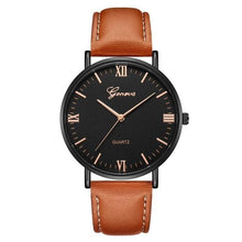 Load image into Gallery viewer, Mens Watch Luxury Casual Leather Build J