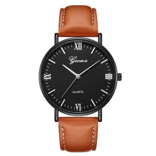 Load image into Gallery viewer, Mens Watch Luxury Casual Leather Build N