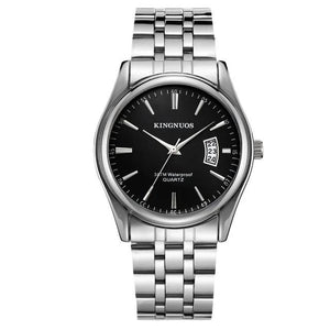 Mens Watch Luxury Stainless Steel Or Leather A