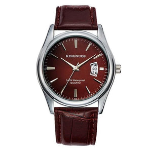 Mens Watch Luxury Stainless Steel Or Leather F