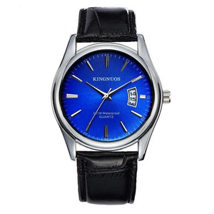 Mens Watch Luxury Stainless Steel Or Leather I