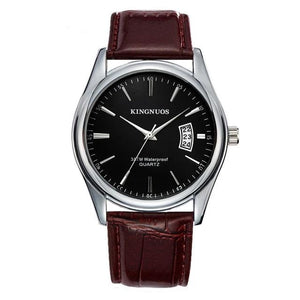Mens Watch Luxury Stainless Steel Or Leather L