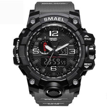 Load image into Gallery viewer, Mens Watch Military Waterproof Chronograph Sport Gray