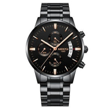 Load image into Gallery viewer, Mens Watch Stainless Steel Sport Or Leather Chronograph And Calendar C