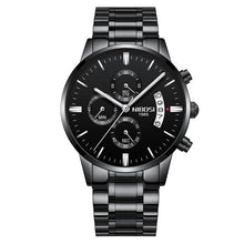 Load image into Gallery viewer, Mens Watch Stainless Steel Sport Or Leather Chronograph And Calendar D
