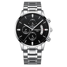 Load image into Gallery viewer, Mens Watch Stainless Steel Sport Or Leather Chronograph And Calendar G
