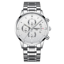 Load image into Gallery viewer, Mens Watch Stainless Steel Sport Or Leather Chronograph And Calendar H