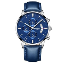 Load image into Gallery viewer, Mens Watch Stainless Steel Sport Or Leather Chronograph And Calendar J