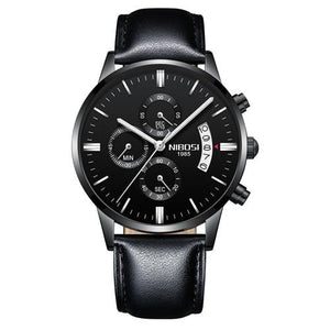 Mens Watch Stainless Steel Sport Or Leather Chronograph And Calendar K