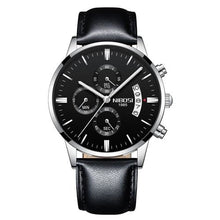 Load image into Gallery viewer, Mens Watch Stainless Steel Sport Or Leather Chronograph And Calendar L