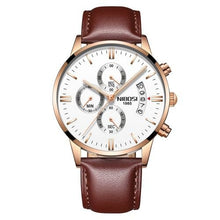 Load image into Gallery viewer, Mens Watch Stainless Steel Sport Or Leather Chronograph And Calendar N