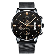 Load image into Gallery viewer, Mens Watch Stainless Steel Sport Or Leather Chronograph And Calendar S