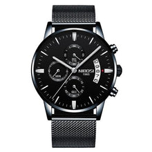 Load image into Gallery viewer, Mens Watch Stainless Steel Sport Or Leather Chronograph And Calendar U