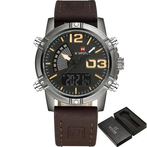Military Casual Chronograph For Men Khaki