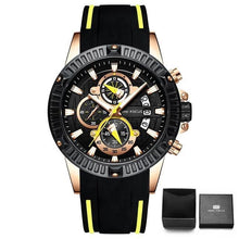 Load image into Gallery viewer, Nylon Sport Chronograph For Men Yellow