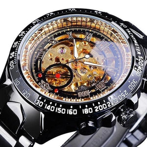 Skeleton Mechanic Luxurious Watch For Men E