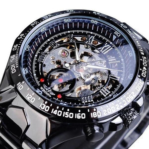 Skeleton Mechanic Luxurious Watch For Men G