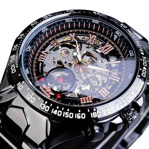Skeleton Mechanic Luxurious Watch For Men H